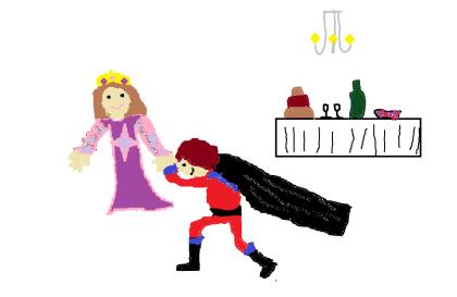 The  Princess Scene