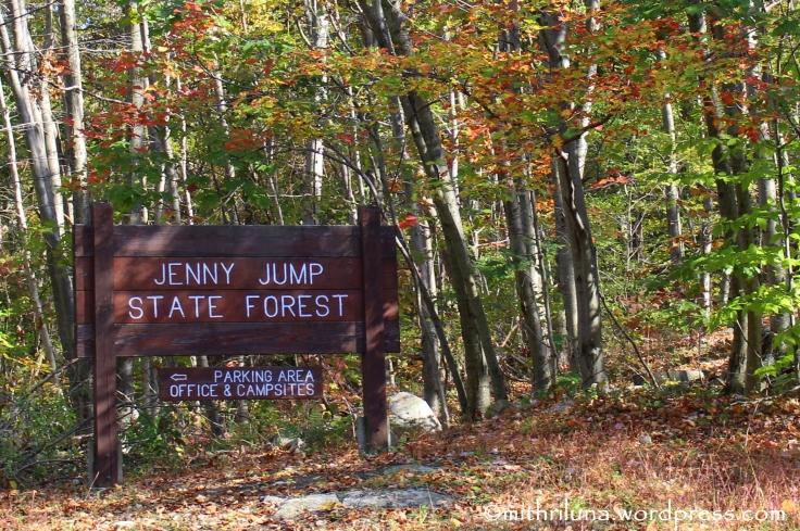 Jenny Jump Sign