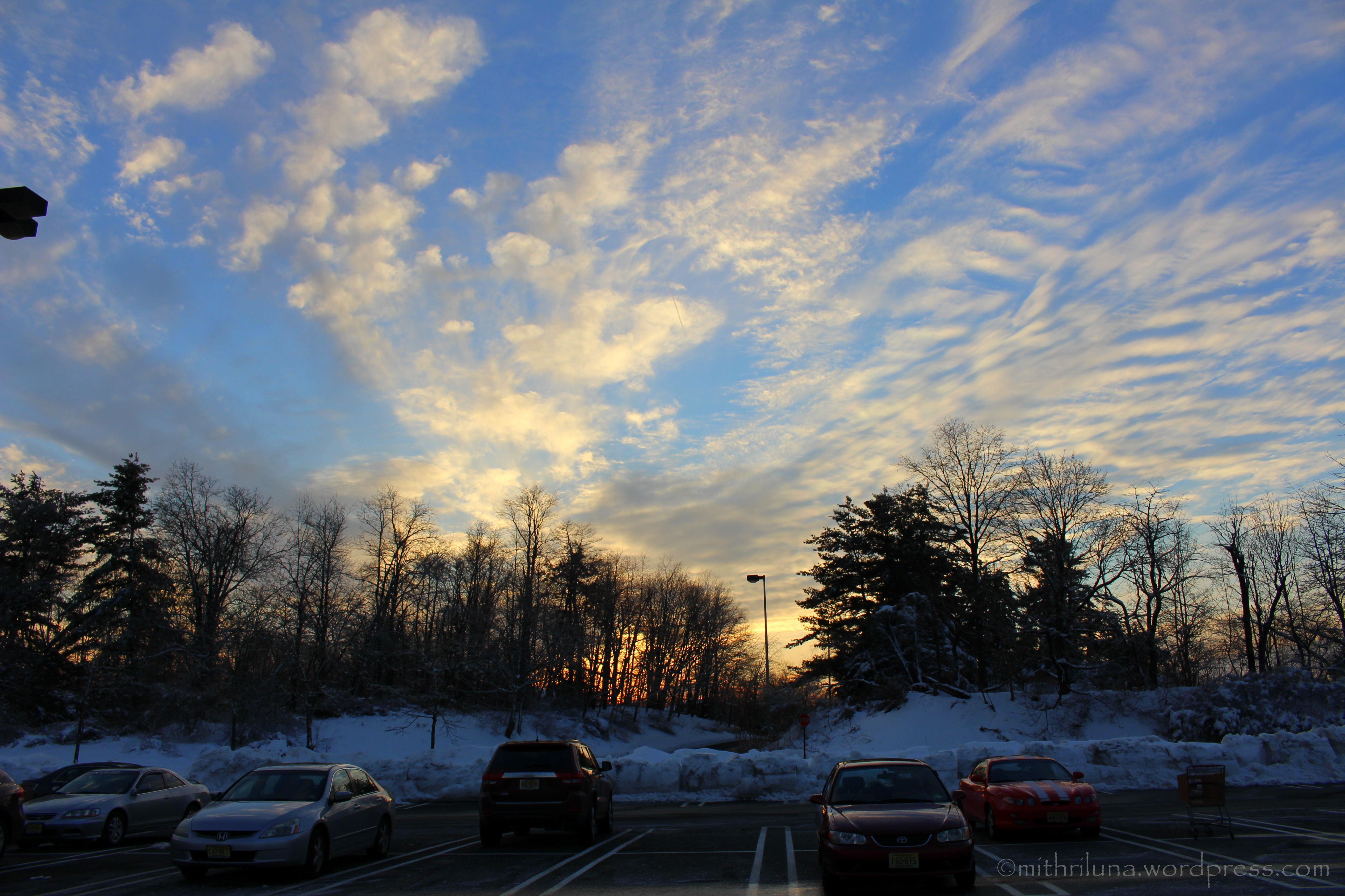 late afternoon clouds - photo #38