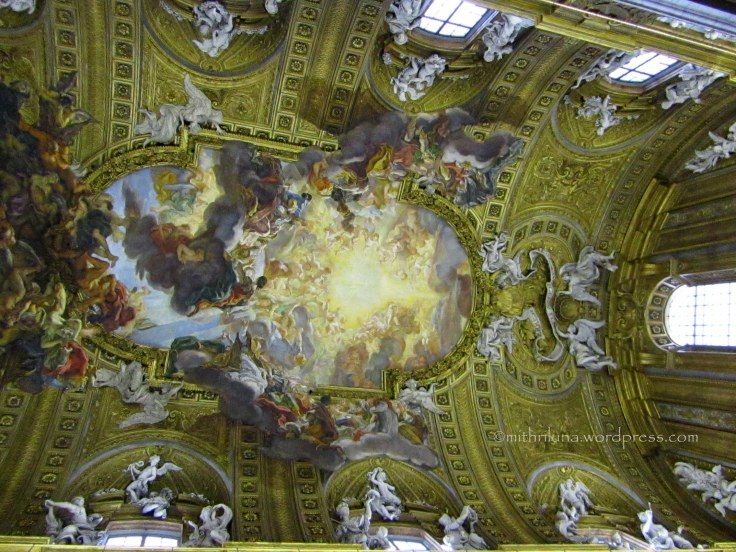 Ceiling fresco, Triumph of the Name of Jesus