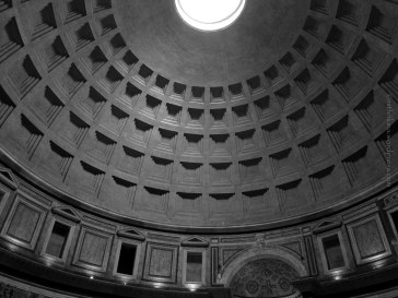 Coffered dome and oculus