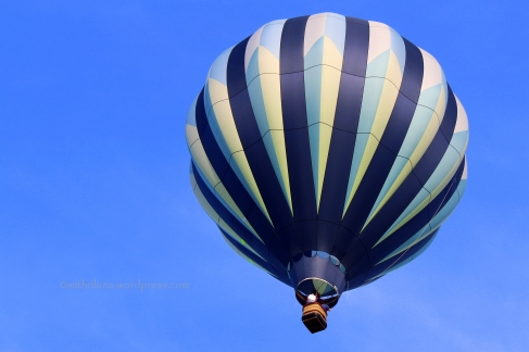 Hot air balloon (photo taken by my son)