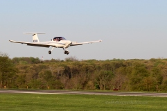 Plane landing at Sky Manor Airport