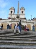 Spanish Steps, Rome. Italy
