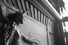 Panel, Bronze door, Trinity Church, NYC