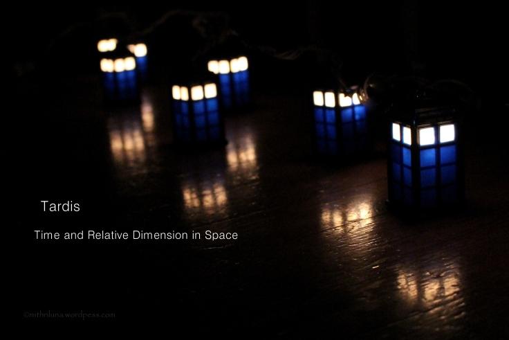 Tardis lights