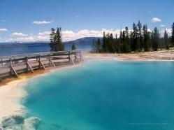 West Thumb Geyser Basin Yellowstone NP
