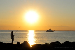 Sunset - Sandy Hook Gateway National Area