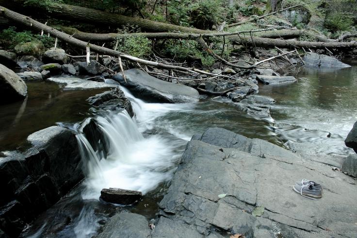 Hacklebarney State Park, waterfall